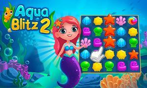 Aqua Blitz 2 Spiel Cover