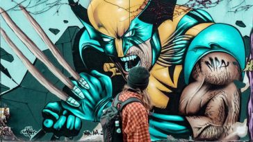 Wolverine Marvel Graffiti
